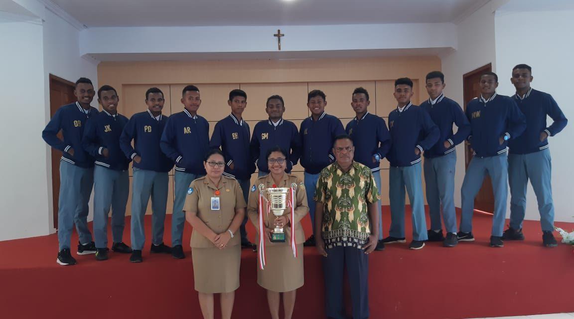 Meraih Ranner Up Nasional Turnamen Futsal Pocari Sweat 2019